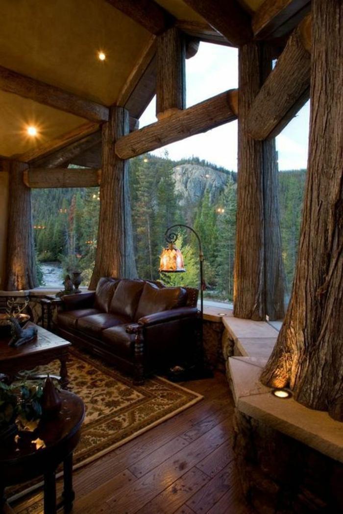 Interieur Rustic Moderne : Quel type d intérieur pour votre chalet en bois habitable