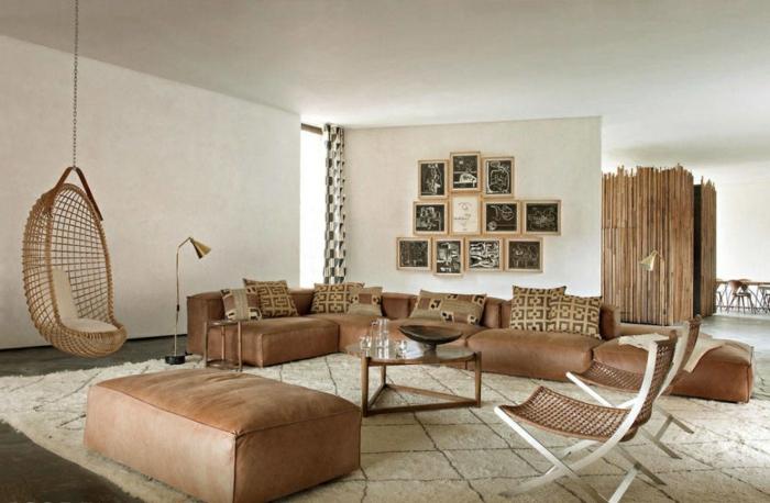 Le canap marocain qui va bien avec votre salon for Salle a manger kitea