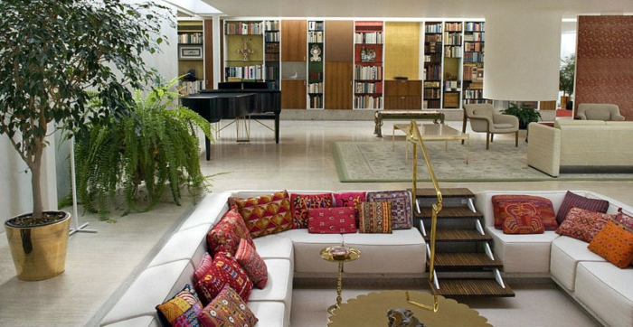 comment choisir la couleur de son salon marocain. Black Bedroom Furniture Sets. Home Design Ideas