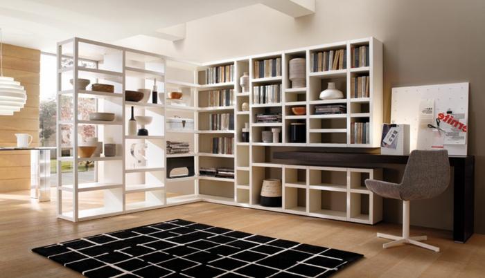 étagère-cube-étagère-bibliothèque