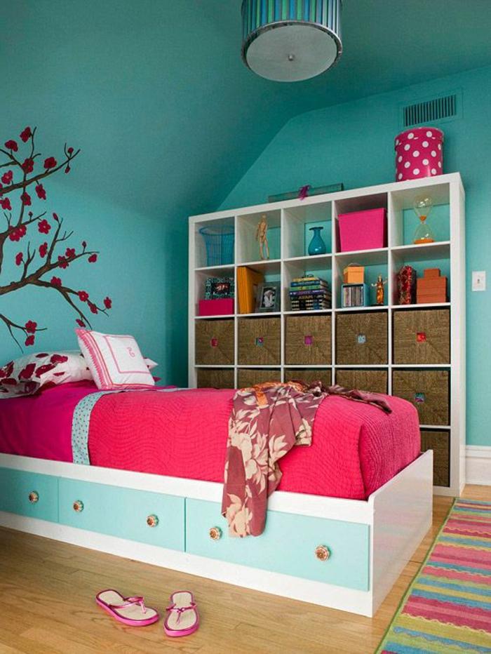 étagère-cube-étagère-cubes-chambre-à-coucher-enfant