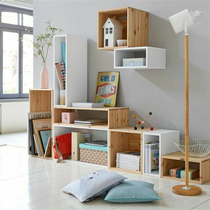 étagère-cube-étagère-cubes-pour-la-chambre-d'enfant