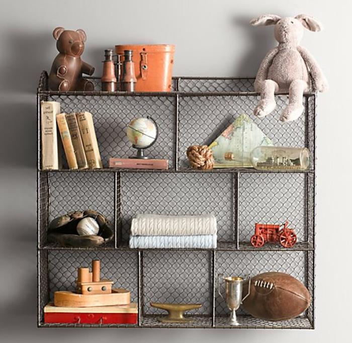 étagère-cube-étagères-cubes-métalliques