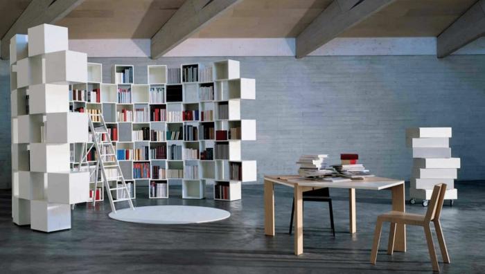 étagère-cube-bibliothèque-modulable