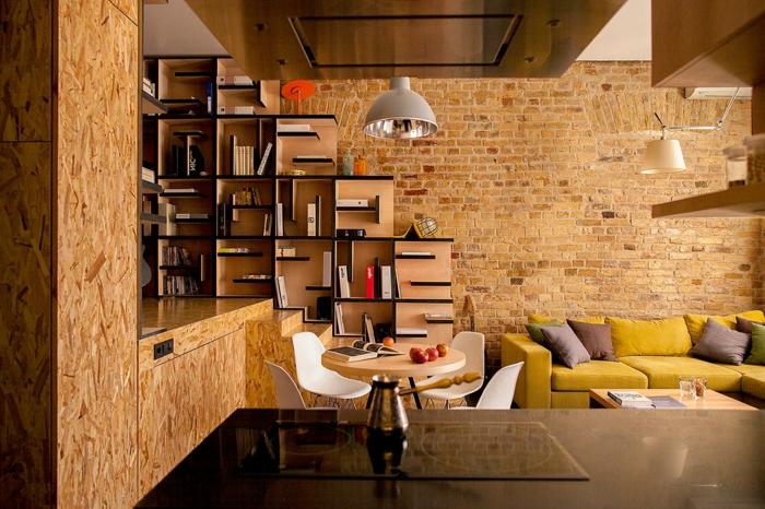 étagère-cube-décor-loft-et-étagère-cubes-en-bois