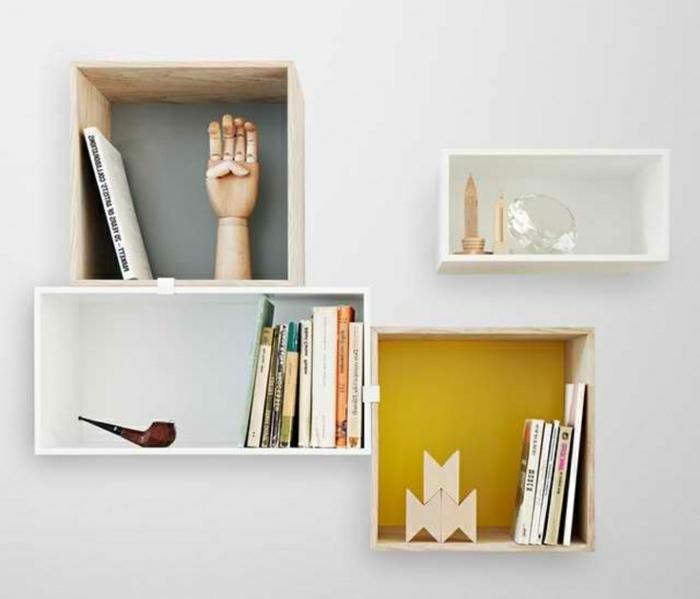 étagère-cube-décoration-murale-pratique