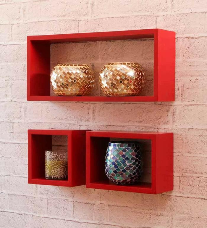 étagère-cube-ensemble-de-trois-étagères-cubiques