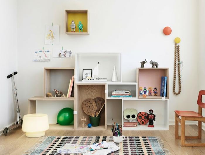 L 39 tag re cube praticit et style contemporain - Rangement pour chambre enfant ...