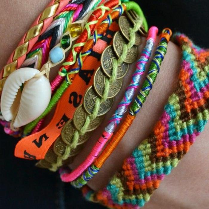 Photos Et Video Pour Comment Faire Un Bracelet Bresilien