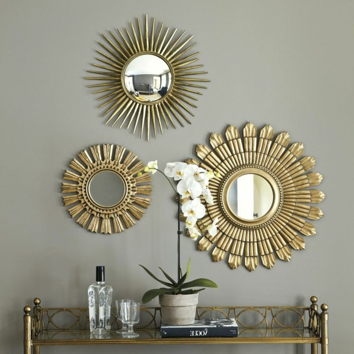 Miroir decoratif for Long miroir pas cher