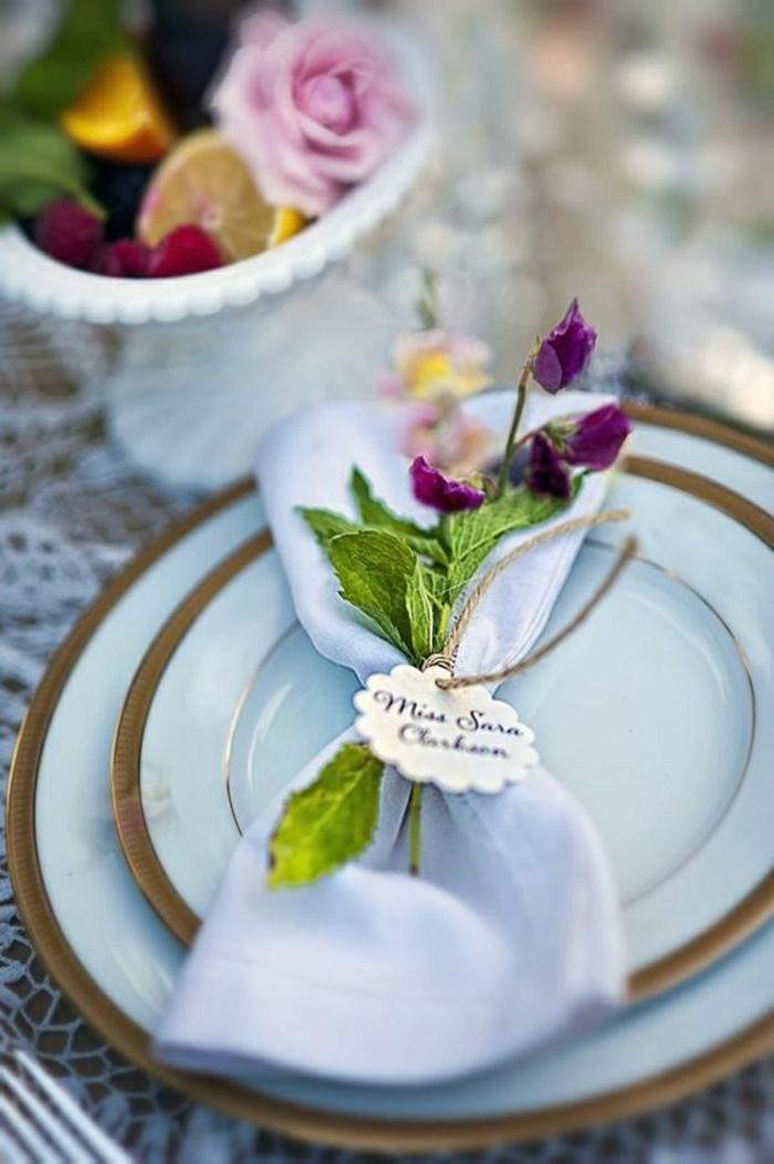 Gut gemocht Pliage Serviette Pour Mariage. Pliage De Serviette Fleur With  CO59