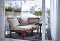 Le parasol de balcon est votre abri contre les rayons du soleil pendant l'été!