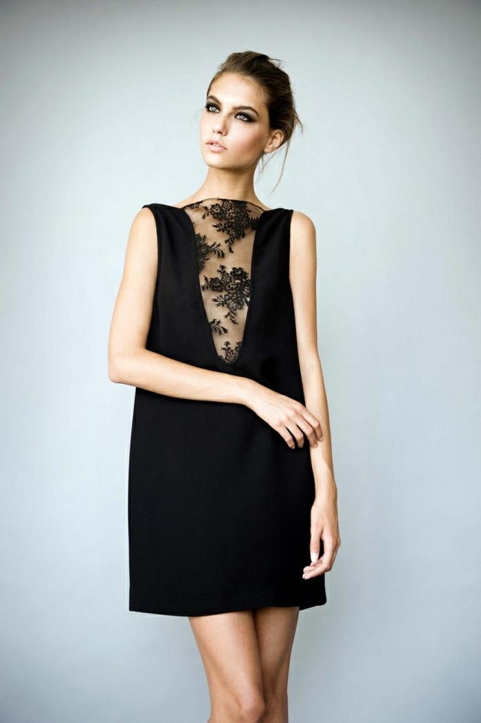 0-robe-fluide-habillée-de-couleur-noir-pour-les-filles-élégantes