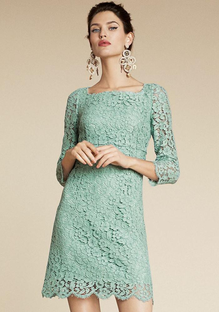 Petite robe bleue - 5 8