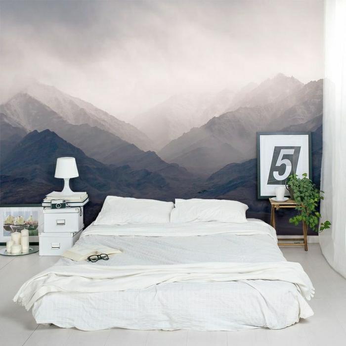 00-saint-maclou-papier-peint-intissé-avec-photo-lis-bas-dans-la-chambre-à-coucher