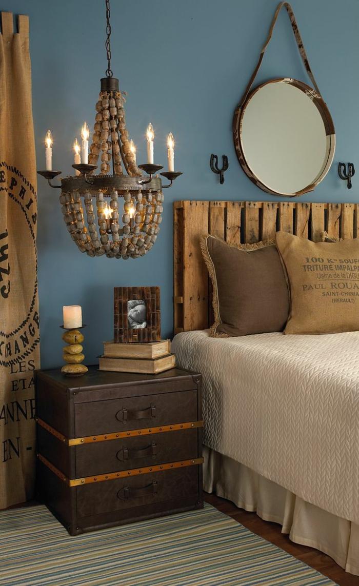 Plusieurs id es pour faire une t te de lit soi m me - Tete de lit facile a faire ...