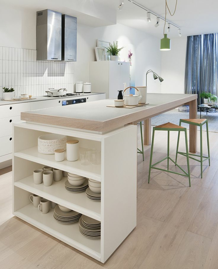1-îlot-de-cuisine-en-chene-clair-ilot-central-ikea-dans-la-cuisine-en-bois-clair
