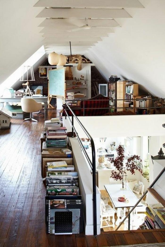 1-aménagement-de-combles-un-joli-appartement-esprit-loft-sol-en-parquette-bois-foncé