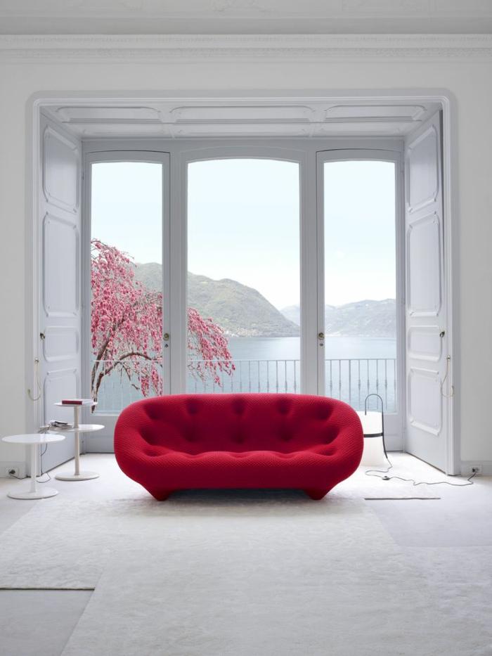 Le canap gonflable qui sont les variantes les plus for Le canape rouge