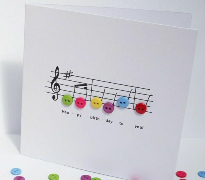 Häufig La plus jolie carte d'anniversaire en 52 variantes! XC23