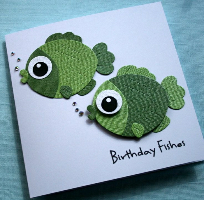 La plus jolie carte d 39 anniversaire en 52 variantes - Carte st valentin a faire soi meme ...
