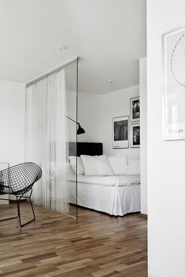 1-cloison-amovible-ikea-plafond-blanc-chambre-à-coucher-avec-cloison-amovible