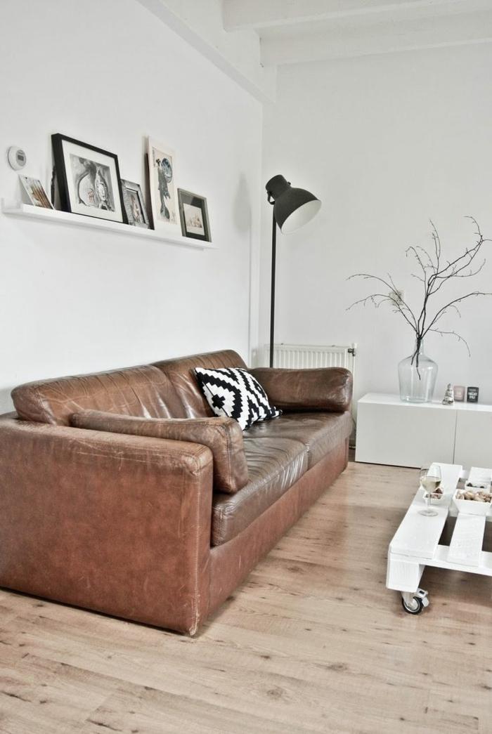 1-comment-choisir-le-meilleur-canapé-club-en-cuir-marron-salon-avec-petite-table-basse-en-palette