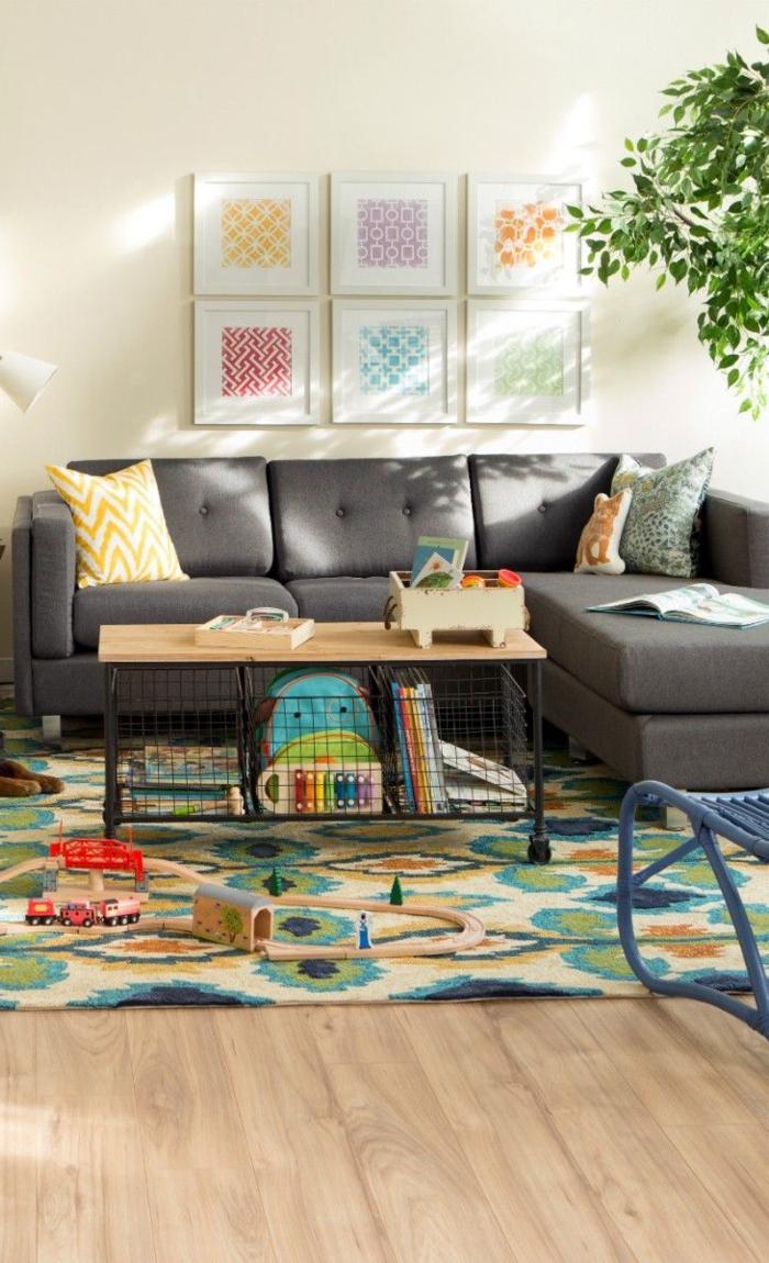 1-comment-choisir-le-plus-beau-tapis-saint-maclou-pour-le-salon-avec-canapé-gris