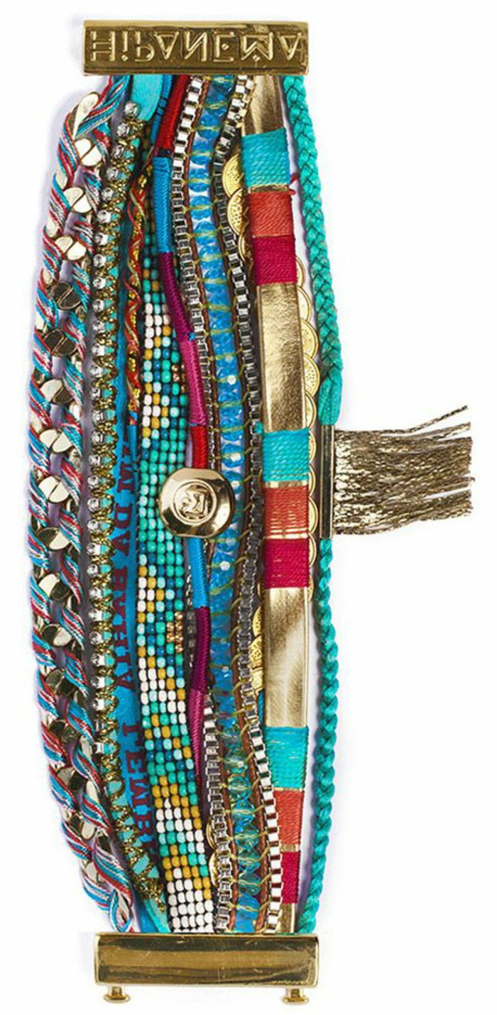 bracelet bresilien moderne bijoux la mode. Black Bedroom Furniture Sets. Home Design Ideas