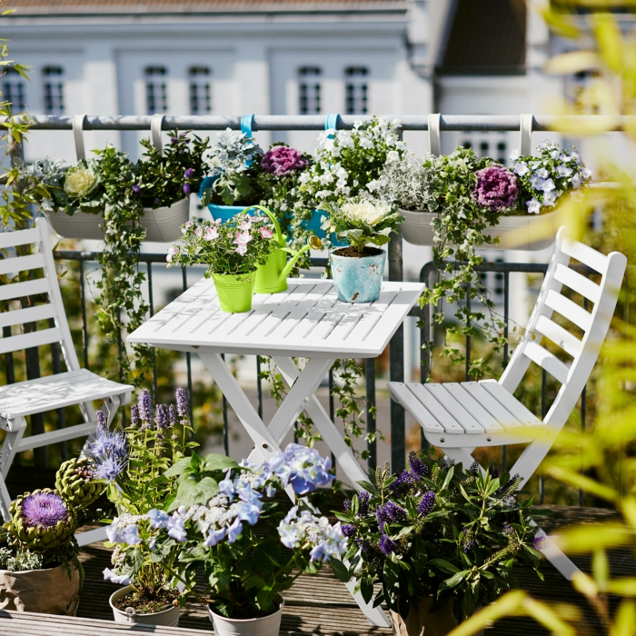 Comment avoir un balcon fleuri id es en 50 photos - Comment isoler un balcon ...