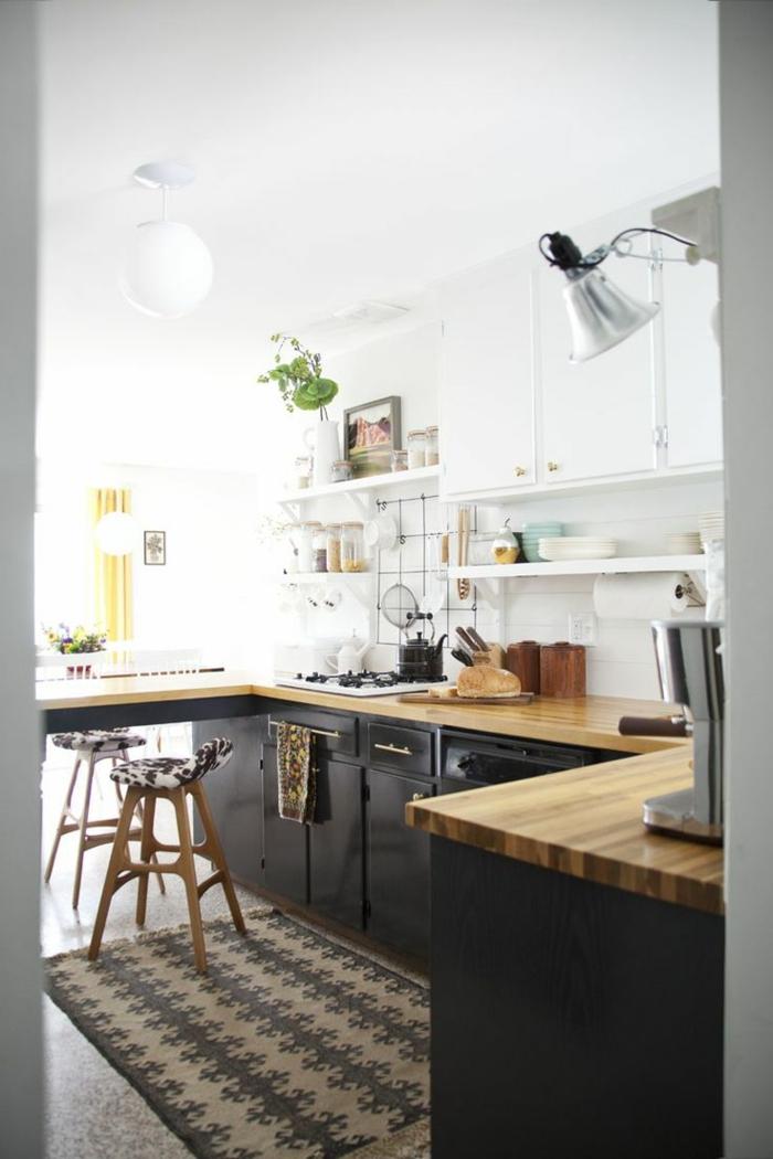 1-crédence-de-cuisine-en-bois-clair-meubles-de-cuisine-crédence-de-cuisine-crédence-castorama