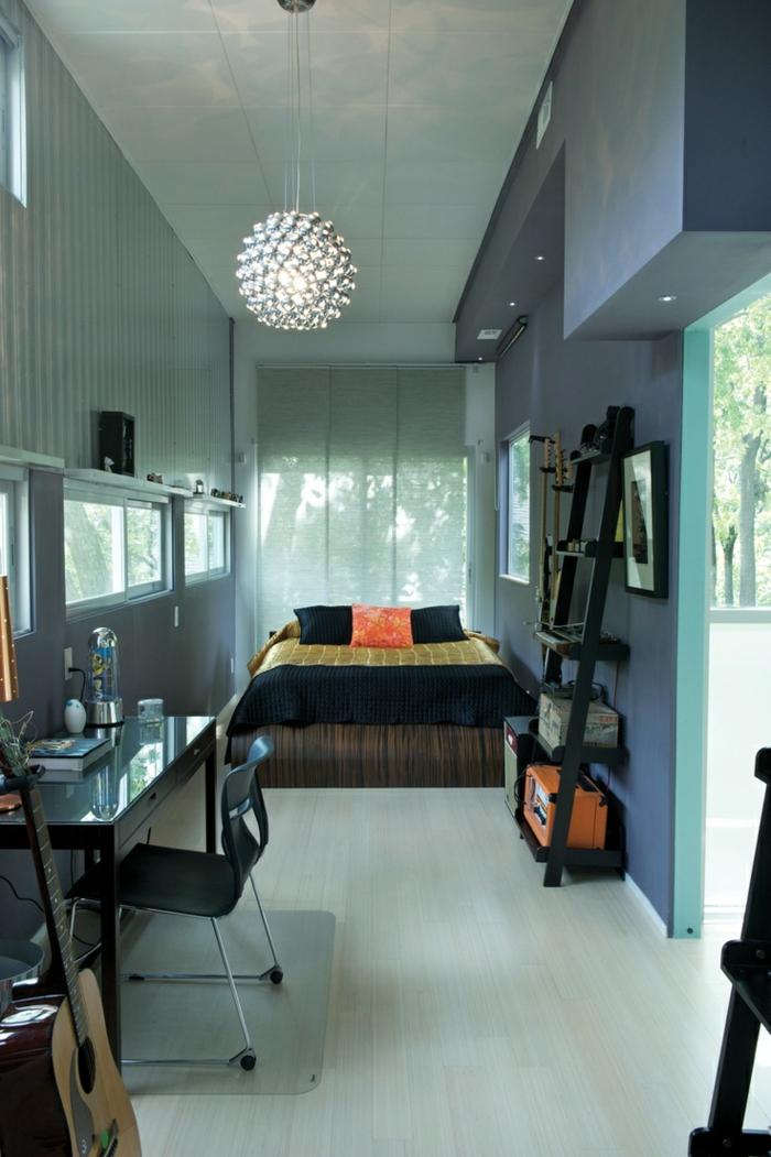 1-décoration-asiatique-style-chinois-chambre-à-coucher-garçon-sol-en-parquette-beige-lustre