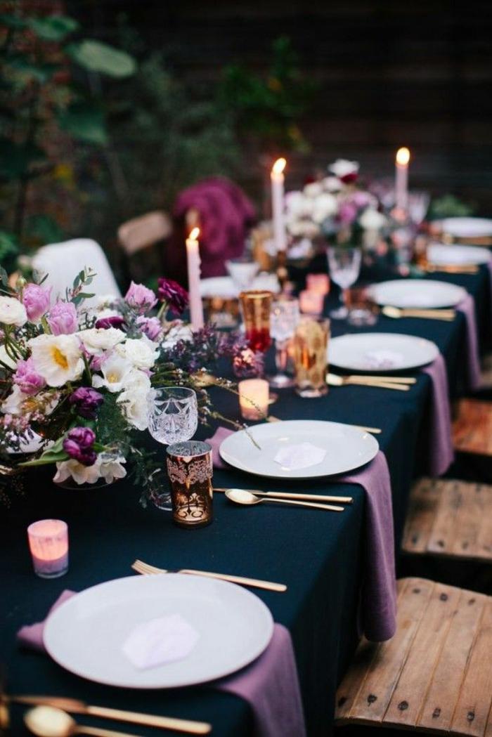 1-décoration-de-table-anniversaire-pour-un-adulte-comment-décorer-sa-table-jolie-idée-d-elegante-deco