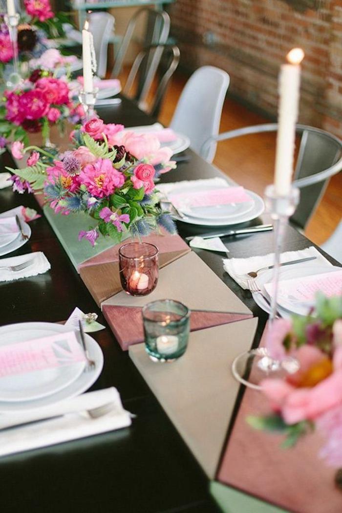 d couvrir la d coration de table anniversaire en 50 images. Black Bedroom Furniture Sets. Home Design Ideas