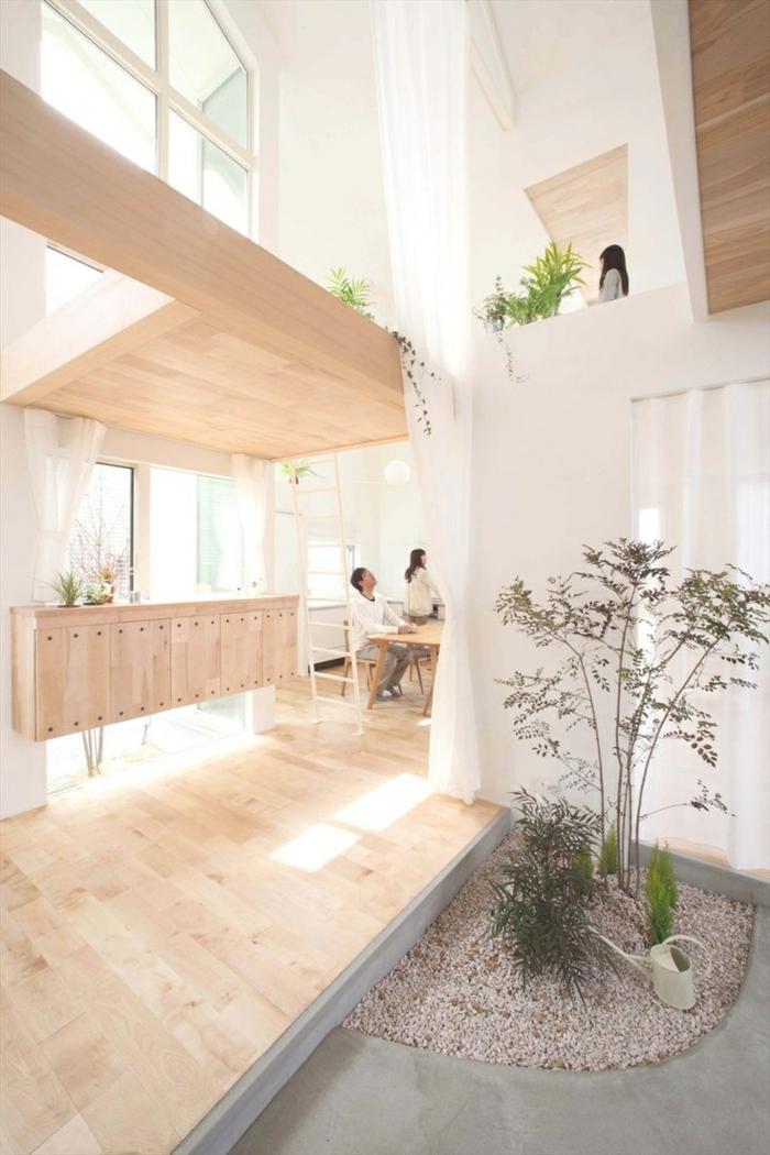 1-décoration-japonaise-style-japonaise-chambre-japonaise-en-bois-clair-style-japonais-plante-verte