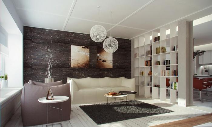 la-chambre-avec-séparateur-de-pièce-une-meuble-séparation-pièce-ikea-bibliothèque-salon-blanc-et-brun-canapé-en-cuir