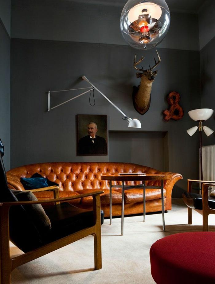 Le canap club quel type de canap choisir pour le salon - Types de fauteuils de salon ...