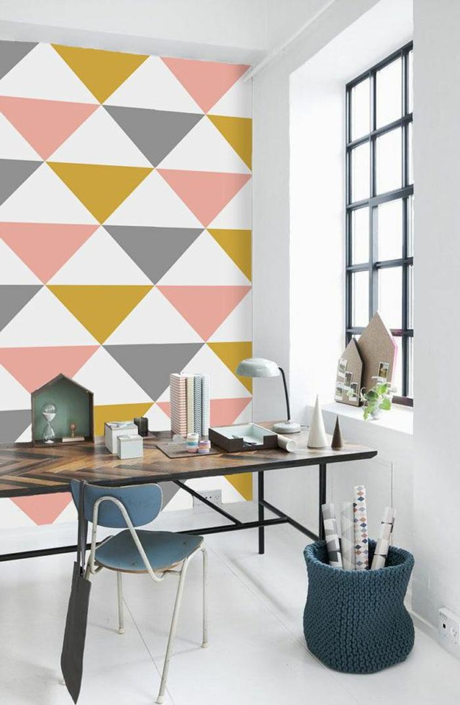 1-papier-peint-intissé-castorama-dans-la-salle-de-séjour-meubles-élégants-poser-du-papier-peint-intissé