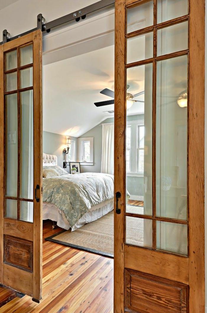 1-paravent-leroy-merlin-en-bois-pour-séparer-la-chambre-à-coucher-plafond-blanc