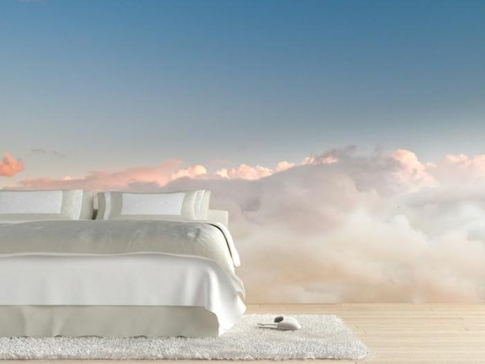 1-poster-mural-trompe-l-oeil-chambre-à-coucher-tapis-blanc-dans-la-cambre-à-coucher-meubles-dans-la-chambre-à-coucher
