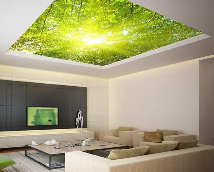 papier peint trompe l oeil chambre valdiz. Black Bedroom Furniture Sets. Home Design Ideas