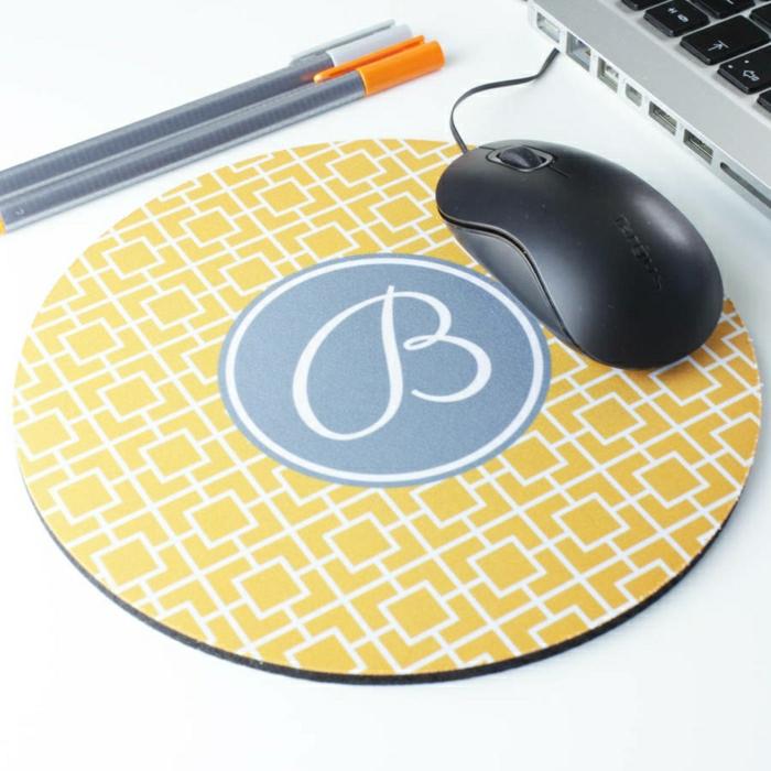 1-tapis-souris-personnalisé-design-ronde-tapis-de-souris-jaune