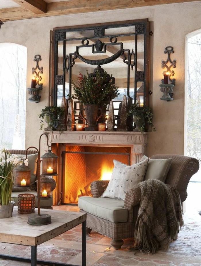 1-un-joli-chambre-de-séjour-avec-miroir-décoratif-cheminée-d-intérieur-fauteuil-beige