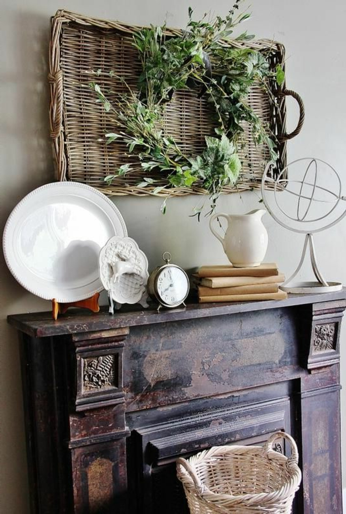1-une-jolie-décoration-vintage-meuble-en-bois-rétro-bois-massif-comment-décorer-quel-type-de-meubles-décoratifs