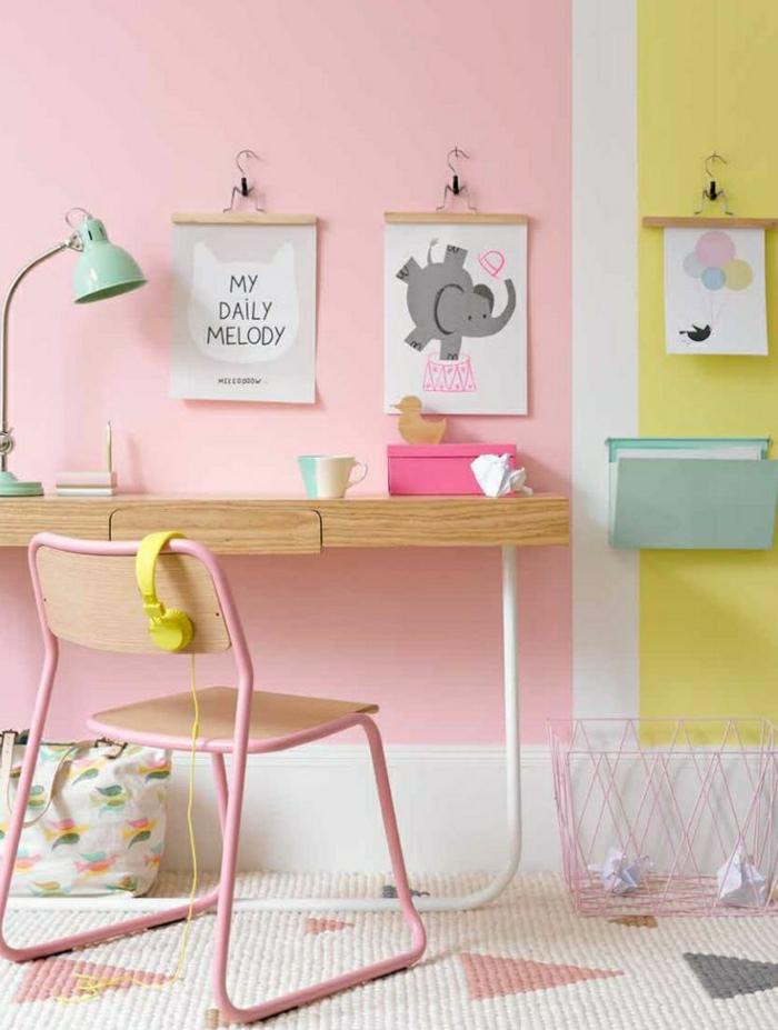 Choisir la meilleure chaise de bureau enfant avec cette for Amenager une chambre pour 2 filles