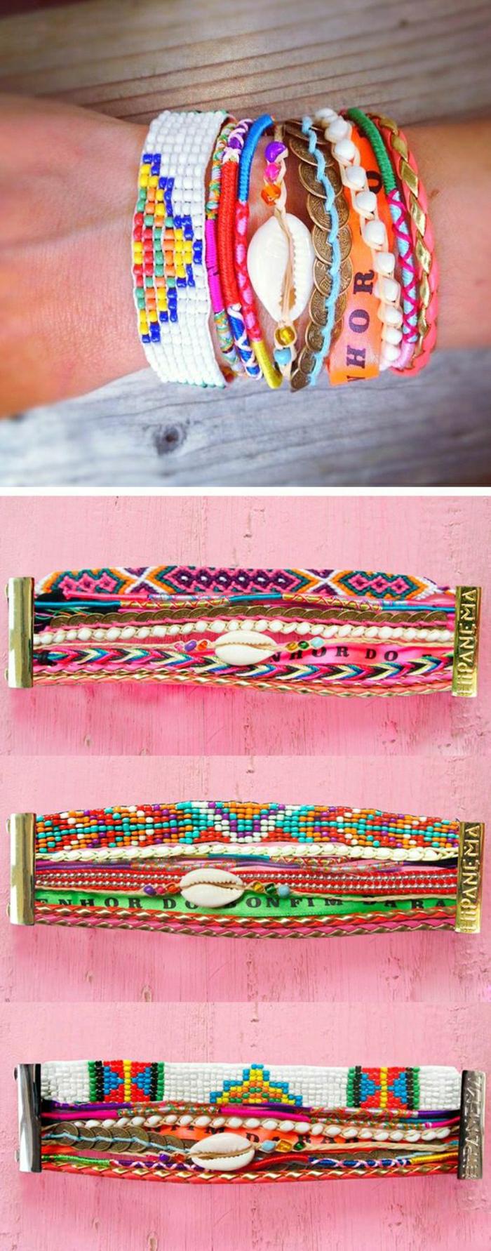 Photos Et Vid O Pour Comment Faire Un Bracelet Br Silien