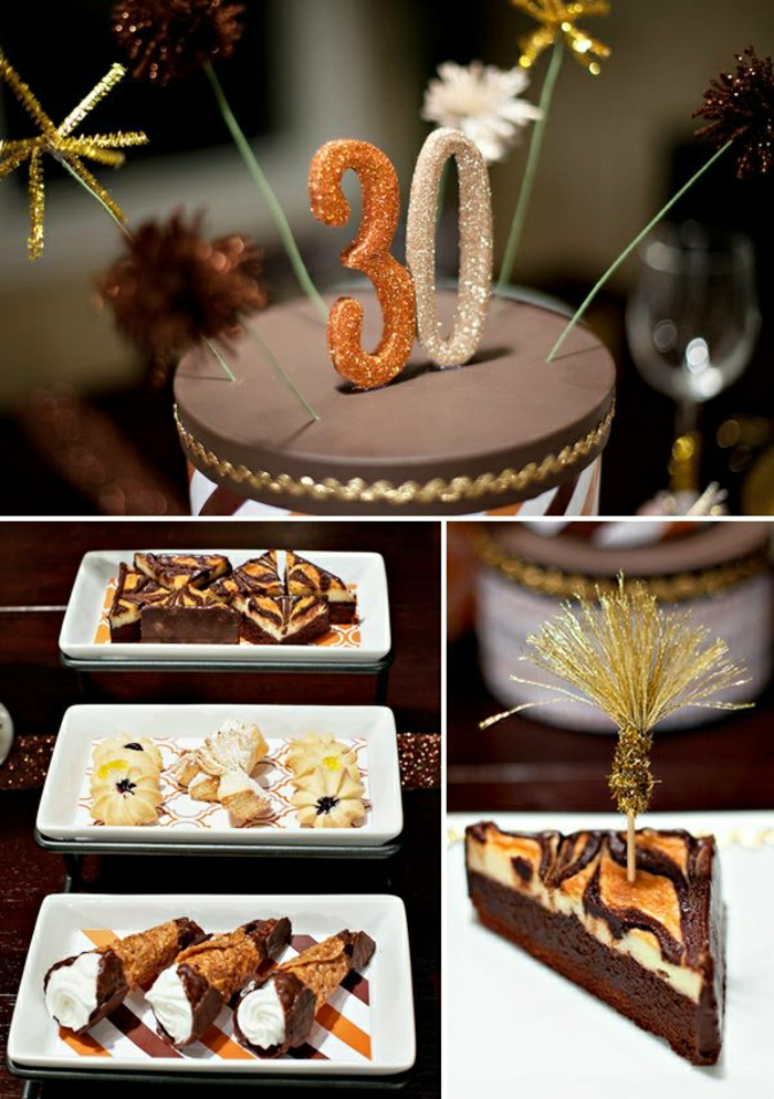 D couvrir la d coration de table anniversaire en 50 images for 30 birthday decoration ideas