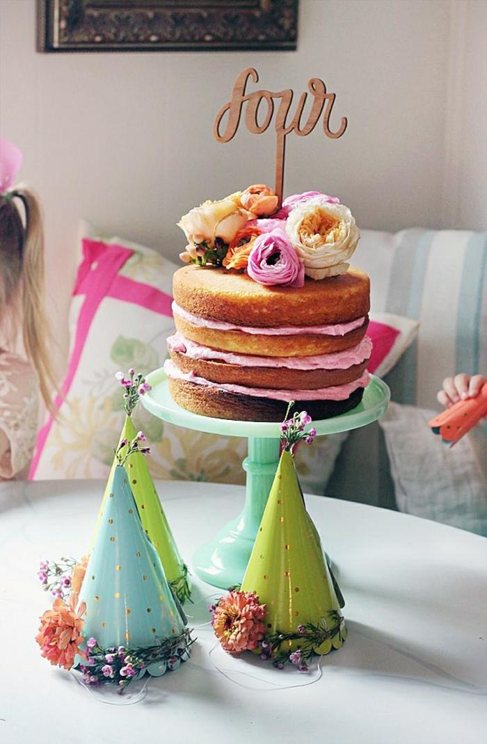 D couvrir la d coration de table anniversaire en 50 images - Decoration gateau anniversaire ...