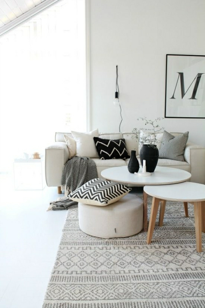 2-intérieur-gris-pale-et-tapis-gris-canapé-blanc-dans-le-salon-meubles-blancs-et-gris
