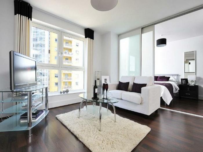 4-idée-originale-séparation-pièce-meuble-séparateur-de-pièce-ikea-chambre-à-coucher-et-salon